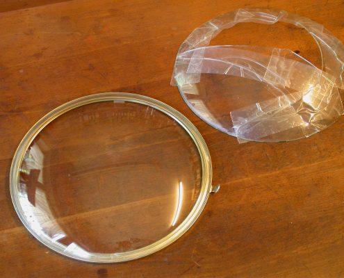 Beispiel 10 Herstellung und Einbau von gewölbten Uhrengläser