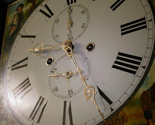 Beispiel 10 Polieren von Uhren Zeiger