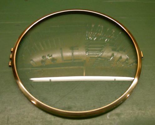 Beispiel 11 Einschleifen von Gläser und Lünetten Aufarbeitung