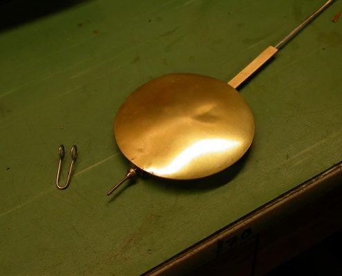 Beispiel 12 Aufarbeitung von Pendel unter Erhalt der original Oberfläche nachher