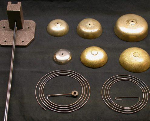 Beispiel 14 Glocken Tonstäbe und Tonfedern