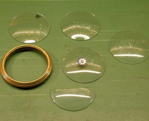 Beispiel 17 gewölbte Gläser
