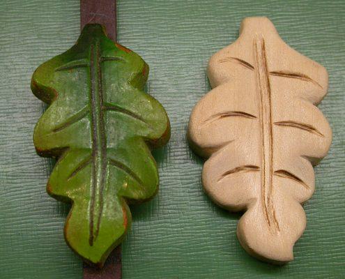 Beispiel 2 Schnitzarbeit von Pendel für Schwarzwalduhr