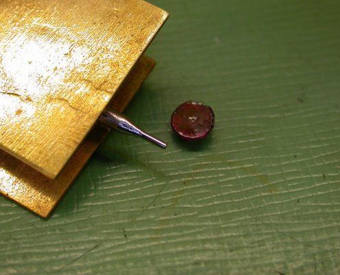 Beispiel 20 Rubin Decksteine