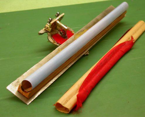 Beispiel 22 Nachfertigung von Papierdämpfer