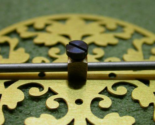 Beispiel 3 Komplettanfertigung von Pendel für Pendule