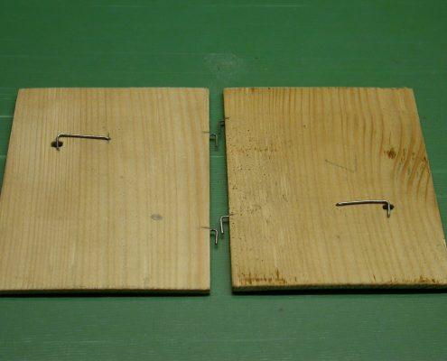 Beispiel 33 Anfertigung von Gehäusetüren für schwarzwälder Uhren vorher