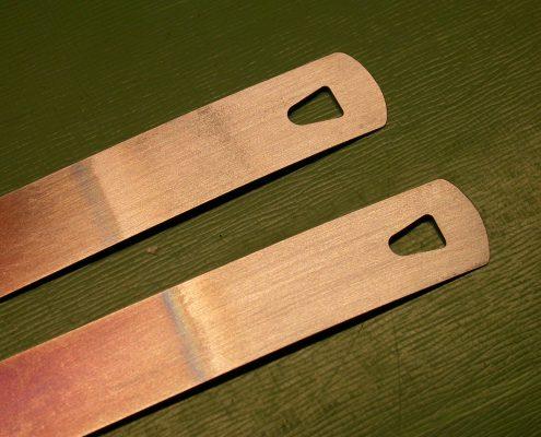 Beispiel 4 Anfertigung von Triebfedern mit Hakenloch