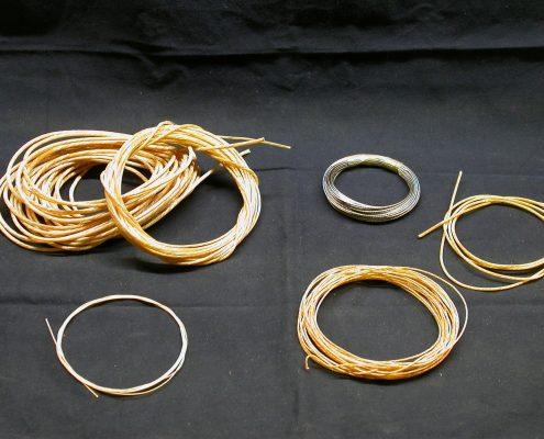 Beispiel 4 Darmsaiten und Drahtseile