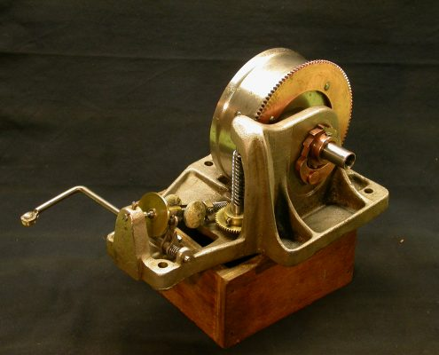 Beispiel 9 Anfertigung von Triebfedern für Grammophone